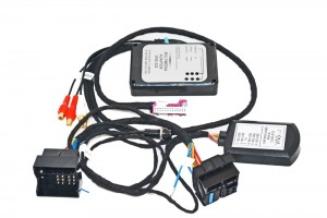 AUDIO / VIDEO INPUT VW RNS-510 , SKODA COLUMBUS