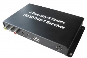 4-head DVB-T tuner set for MMI 2G, 3G