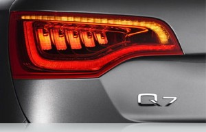 LED tail lights set for Audi Q7 (L + R) with lights retrofit driver